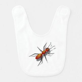 Big Red Ant Bib