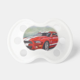 Big Red Baby Pacifiers