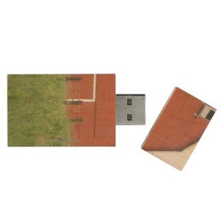 Big Red Barn Wood USB Flash Drive