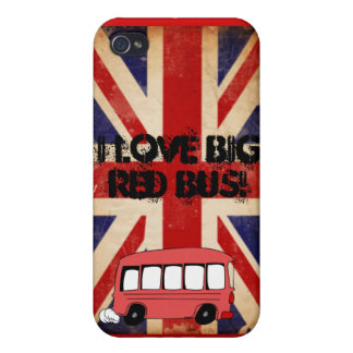 big red bus covers for iPhone 4