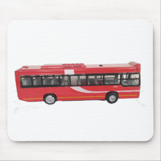Big Red Bus Mouse Pad