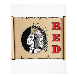 big red chief letterhead