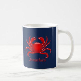 Big Red Crab Back to School Dorm Essentials Coffee Mug