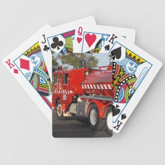 Big_Red_Fire_Engine,_ Poker Deck