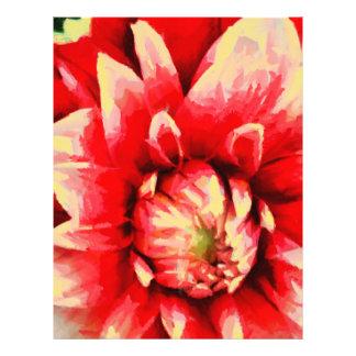 Big red flower flyer