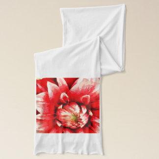 Big red flower scarf