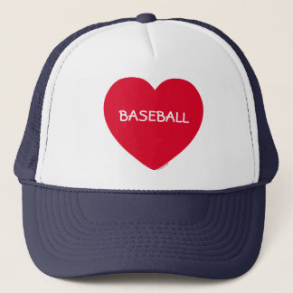 Big Red Heart Customizable Hat (Long Text)