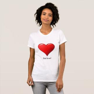 Big Red Heart Love Shirt