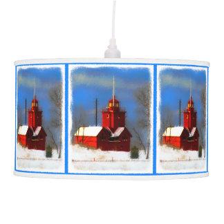 Big Red Lighthouse, Holland, MI Pendant Lamp