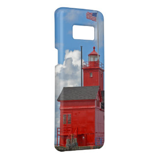 Big Red Lighthouse in Michigan Case-Mate Samsung Galaxy S8 Case