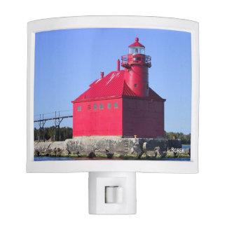 Big Red Lighthouse Nite Light