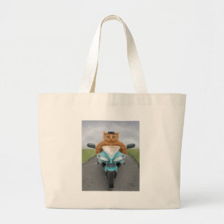 Big Red Tabby Tote Bags