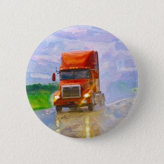 BIG RIG LORRIES & TRUCKS for Truck-lovers 2 Inch Round Button