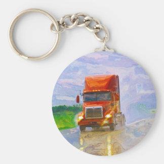 Big Rig Truck Drivers Truckin' Key-Chains Keychain