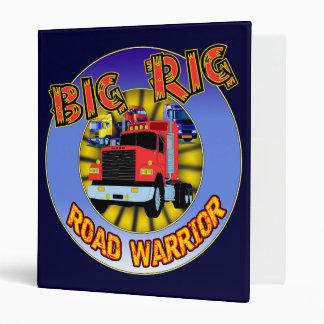 Big Rig Trucker Avery Binder