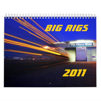 Big Rigs 2011 Wall Calendar
