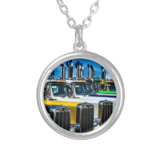 Big Rigs Silver Plated Necklace