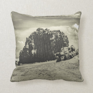 Big Rock at Praia Malhada Jericoacoara Brazil Throw Pillow