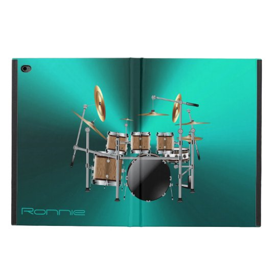 Big Rock Drum Set iPad Air Case for Drummers