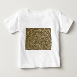 Big roll of hay background baby T-Shirt