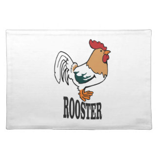big rooster bird placemat