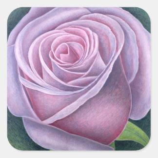 Big Rose 2003 Square Sticker