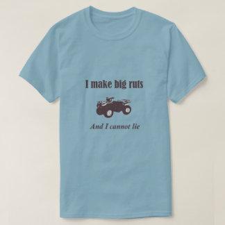 Big Ruts Funny Four Wheeler ATV Country Shirt