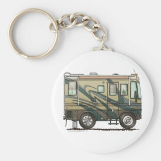 Big RV Camper Key Chains