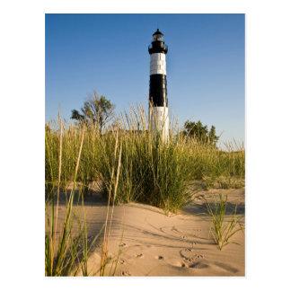 Big Sable Lighthouse-postcardcopy Postcard