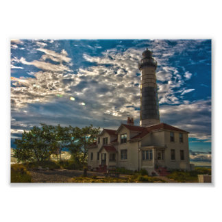 Big Sable Point Lighthouse, Michigan Art Photo