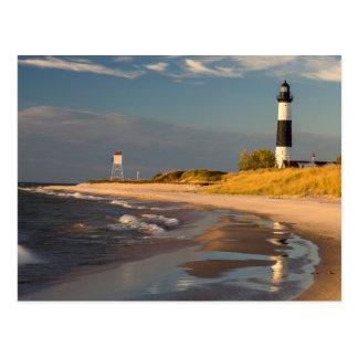 Big Sable Point Lighthouse On Lake Michigan 2 Postcard