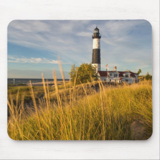 Big Sable Point Lighthouse On Lake Michigan Mouse Pad