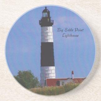 Big Sable Point Lighthouse Sand Coaster