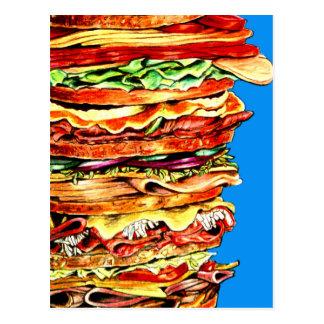 Big Sandwich Postcard