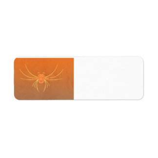 Big Scary Bug Halloween Party Return Address Label