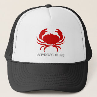 Big Seafood Crab Trucker Hat