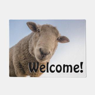 Big Sheep - Welcome! Doormat