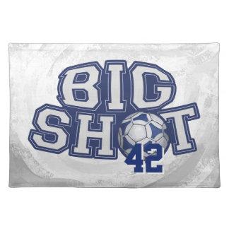 Big Shot Soccerball Placemat