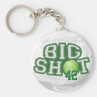 Big Shot Tennis Ball Keychain