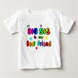 Big Sis Best Friend Baby T-Shirt