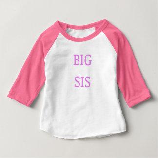 Big sis pink baby T-Shirt