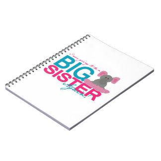 Big Sister Again Elephant Notebook