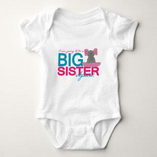 Big Sister Again Elephant Tshirts