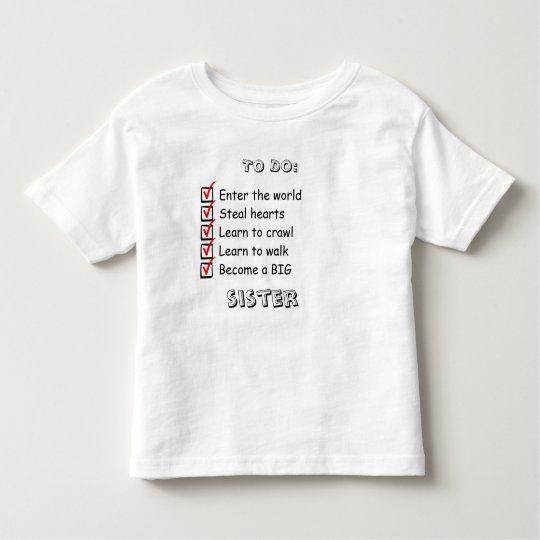 Big Sister Announcment Shirt