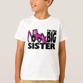 Big Sister Backhoe T-Shirt