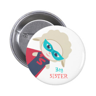 Big sister Badge 2 Inch Round Button