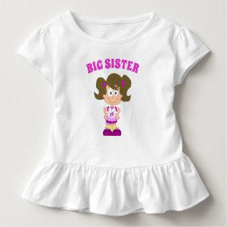Big Sister Caucasian Brunette Shirt
