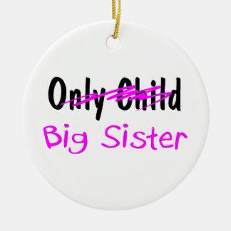 Big Sister Ceramic Ornament
