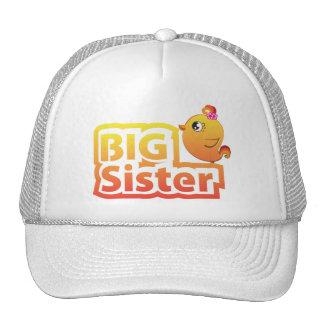 Big sister cute baby chicken bird hat