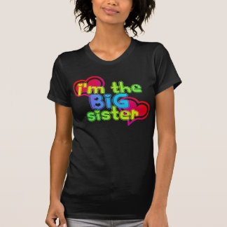 Big sister dark tee